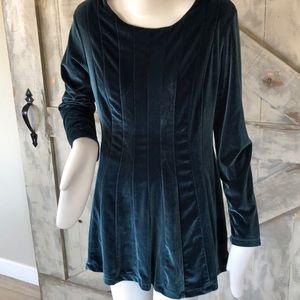 Soft surroundings velvet tunic